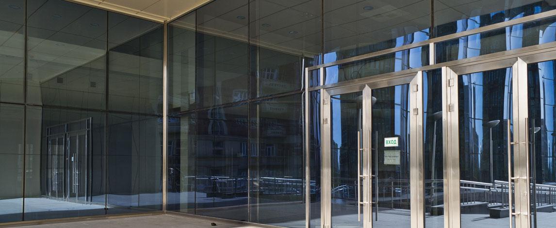 Алюминиевый профиль для автоматических раздвижных дверей